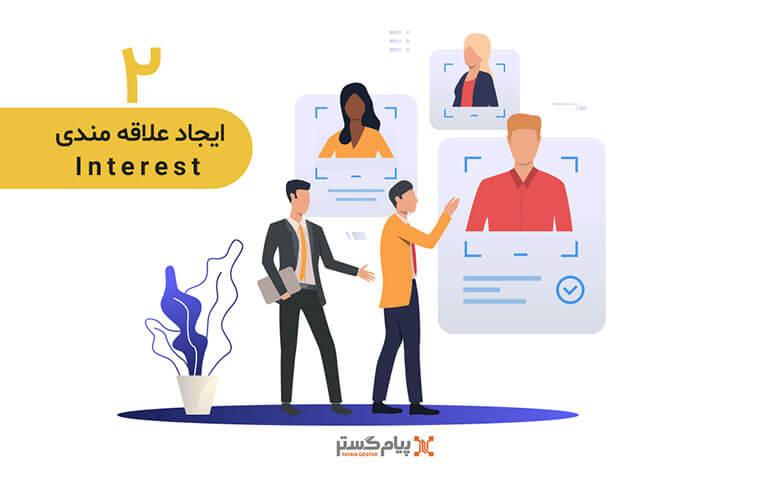 ایجاد علاقه مندی (Interest) در قیف فروش sale funnel