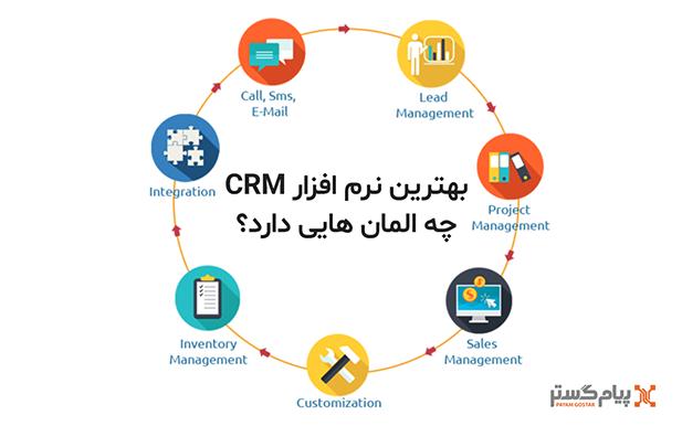 ویژگی های بهترین نرم افزار CRM