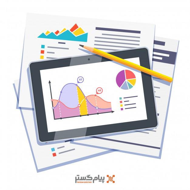 گزارش گیری و تحلیل عملکرد هر نمایندگی بیمه