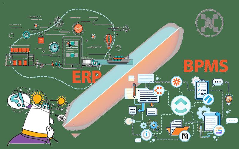 مقایسه سیستم های ERP و BPMS
