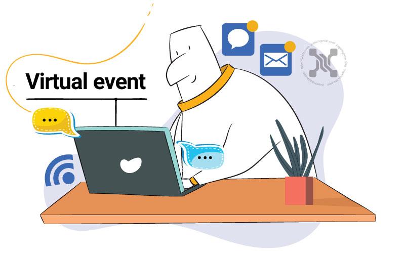 رویدادهای مجازی یکی از ترندهای بازاریابی در سال 2021 است