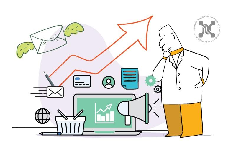 از مزایای ایمیل مارکتینگ رشد ترافیک وبسایت و افزایش لید است