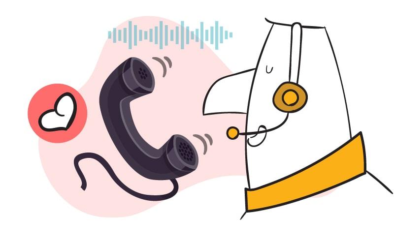 استفاده از لایو چت ابزار خوبی برای شنیدن صدای مشتری است