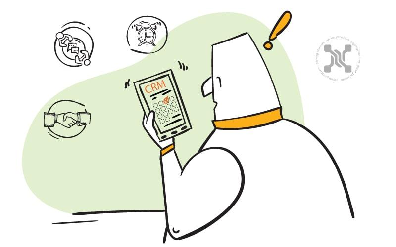 برای طراحی نظرسنجی NPS از نرمافزار مدیریت ارتباط با مشتری (CRM) استفاده کنید