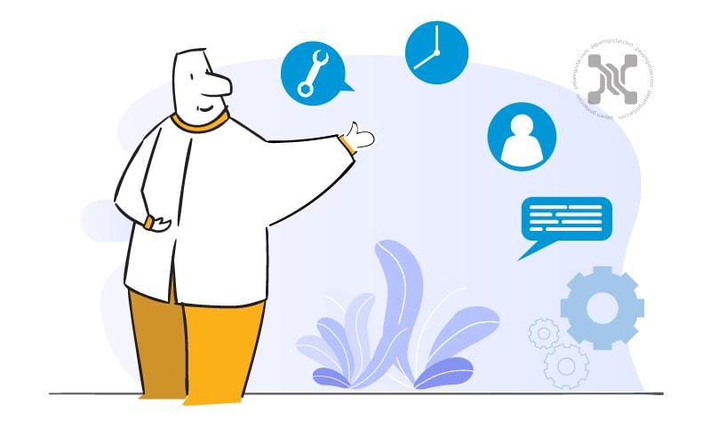 با ارائه خدمات مشتری، کسبوکارها هزینههای جذب مشتری را بازپس میگیرند