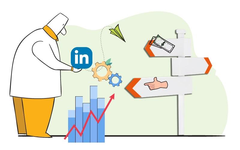 ایدههایی برای افزایش فروش در لینکدین