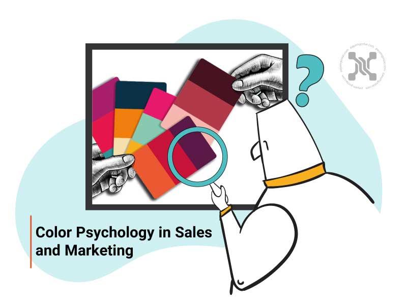 استفاده از روانشناسی رنگ در بازاریابی و فروش بر درک مشتریان از برند شما تاثیر میگذارد