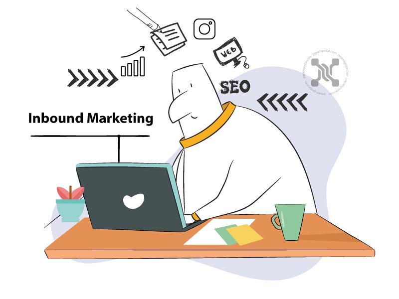 اینباند مارکتینگ نوعی روش بازاریابی است که به خواستههای مصرفکننده امروزی توجه دارد. مفهوم و محتوا در بازاریابی درونگرا از هم جدانشدنی هستند.