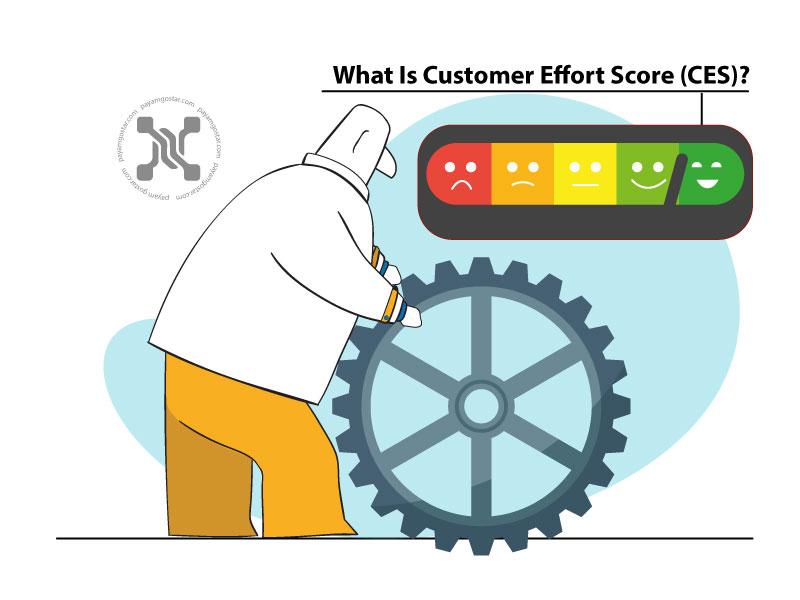 شاخص تلاش مشتری یا Customer Effort Score که به اختصار به آن CES میگویند، معیاری برای اندازهگیری میزان تلاش مشتری برای تعامل با شما است.