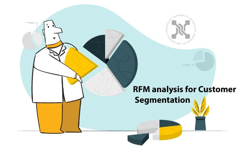 RFM یک استراتژی برای تجزیه و تحلیل و برآورد ارزش مشتری بر اساس زمان خرید، تکرار خرید و ارزش پولی خرید مشتری است.