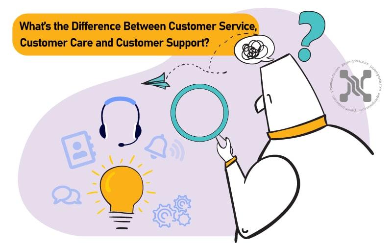 خدمات مشتری، مراقبت از مشتری و پشتیبانی مشتری در نگاه اول یکسان به نظر میرسند اما تفاوتهای زیادی دارند