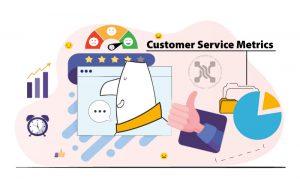 معیارهای خدمات مشتری، همانطور که از نامش پیداست، دادههایی را ازعملکرد تیم خدمات مشتری نشان میدهد